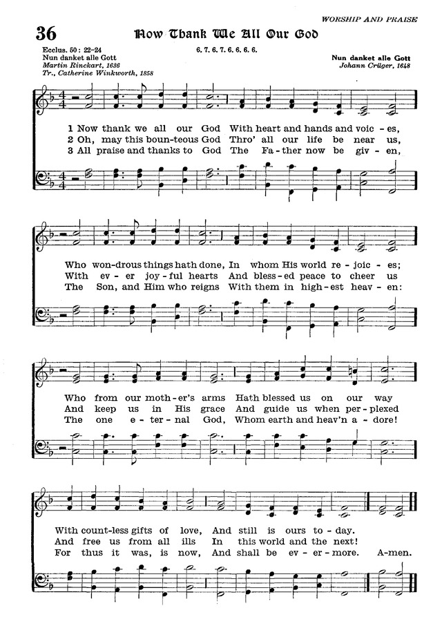 The Lutheran Hymnal page 208