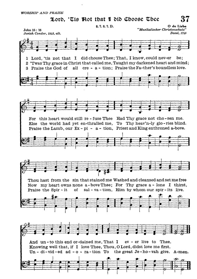 The Lutheran Hymnal page 209