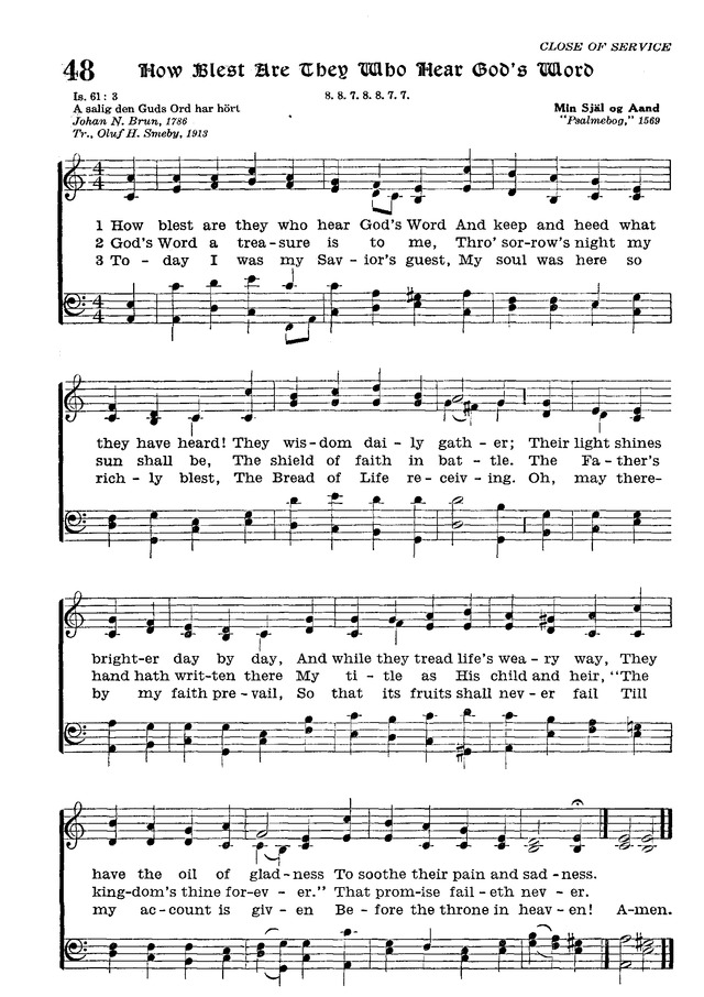 The Lutheran Hymnal page 220