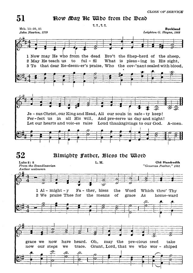 The Lutheran Hymnal page 224