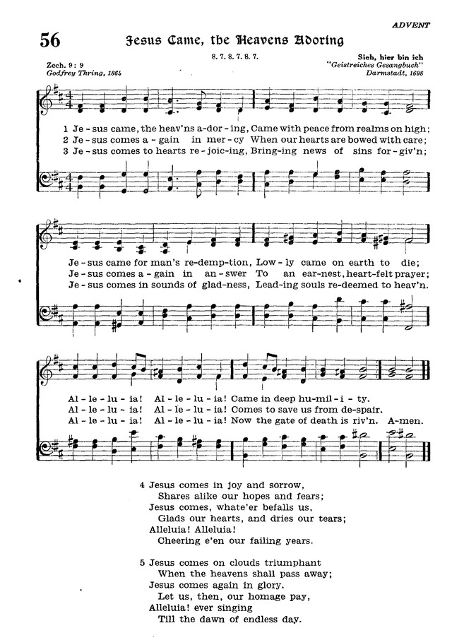 The Lutheran Hymnal page 228