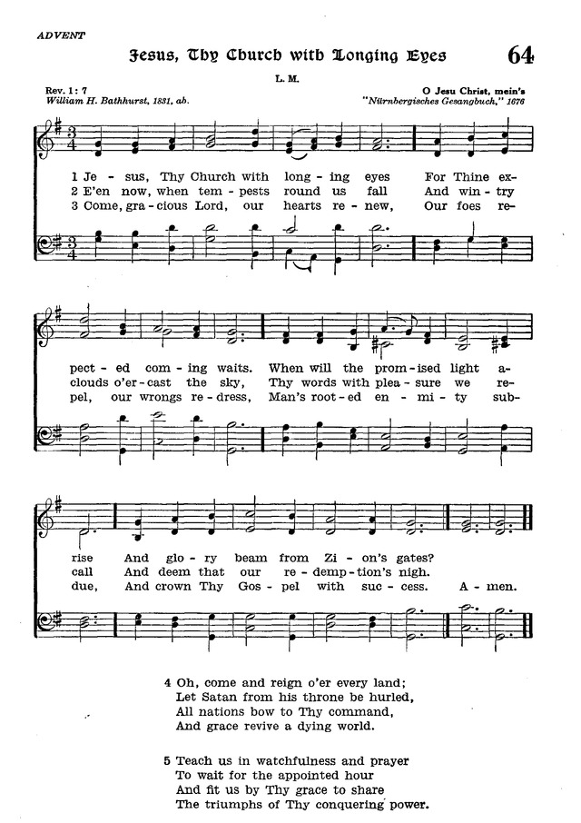 The Lutheran Hymnal page 237