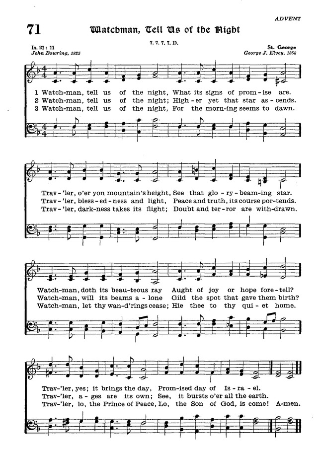The Lutheran Hymnal page 244