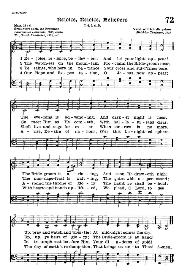 The Lutheran Hymnal page 245