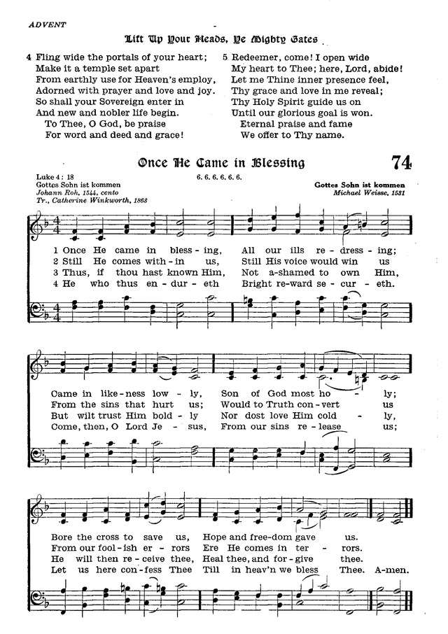 The Lutheran Hymnal page 249