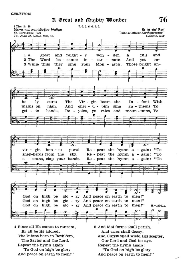 The Lutheran Hymnal page 251
