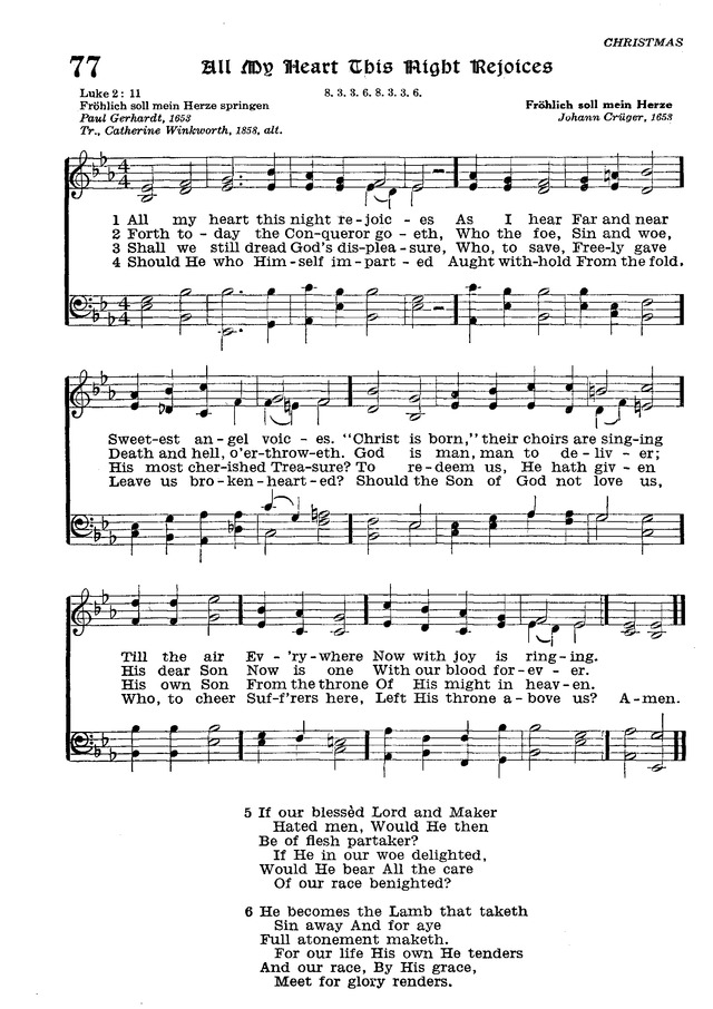 The Lutheran Hymnal page 252