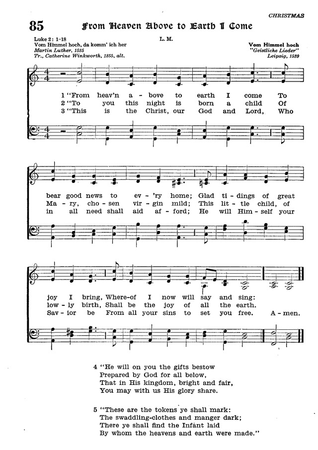 The Lutheran Hymnal page 262