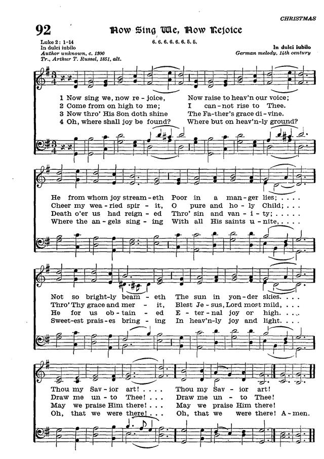 The Lutheran Hymnal page 270