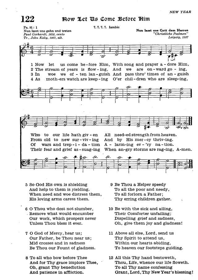 The Lutheran Hymnal page 300