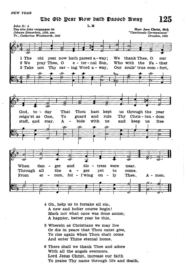 The Lutheran Hymnal page 303