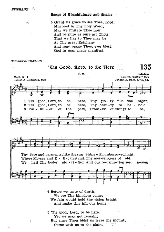 The Lutheran Hymnal page 313