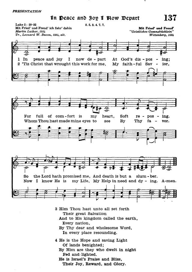 The Lutheran Hymnal page 315