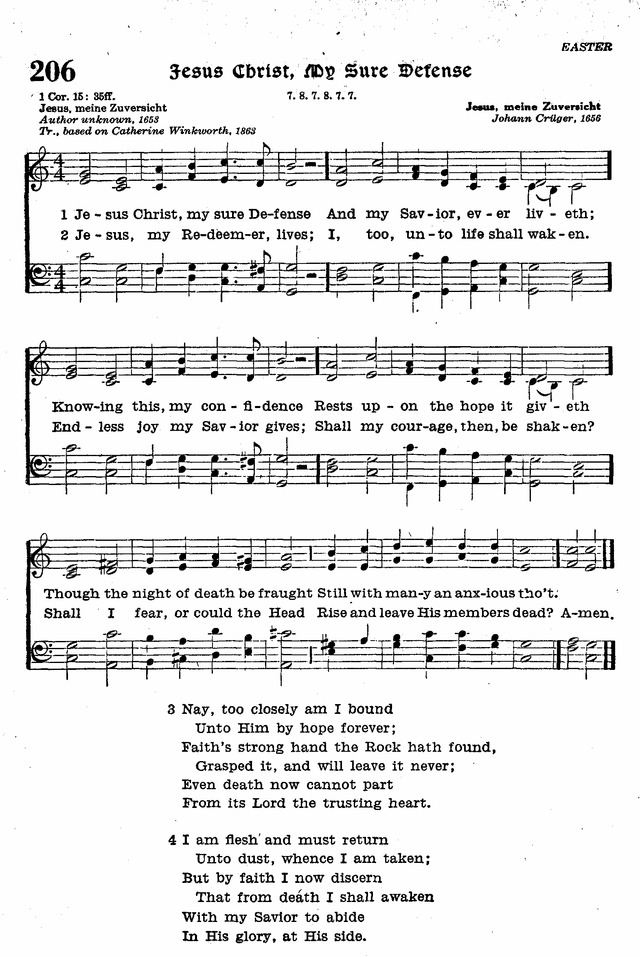The Lutheran Hymnal page 386