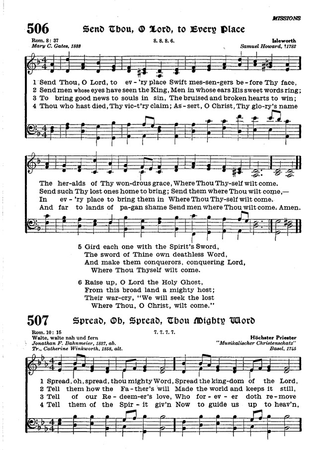 The Lutheran Hymnal page 680