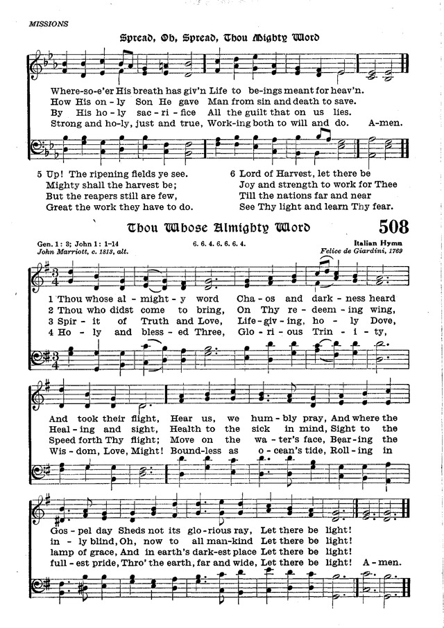 The Lutheran Hymnal page 681