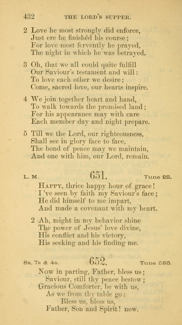 The Liturgy and Hymns of the American Province of the Unitas Fratrum page 510
