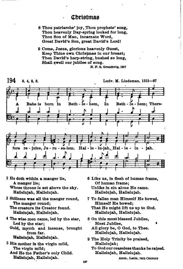 The Lutheran Hymnary page 296