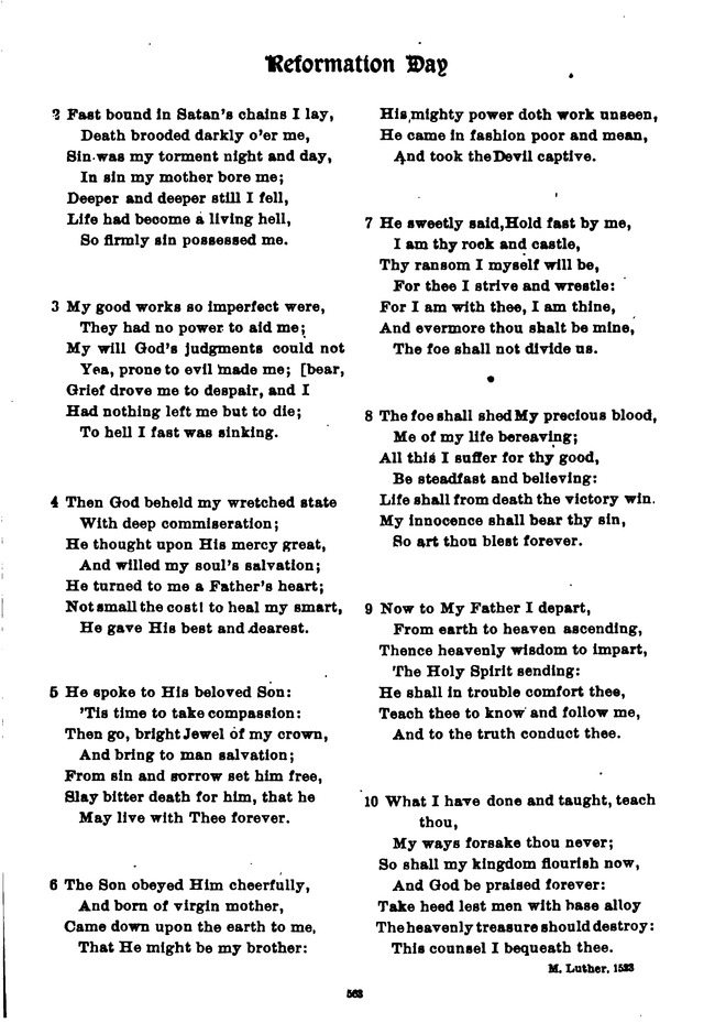 The Lutheran Hymnary 526  Dear Christians, one and all