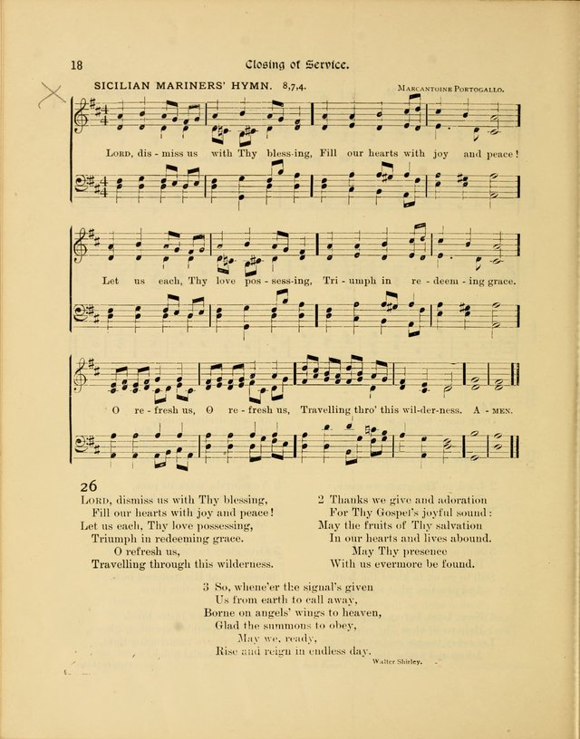 Luther League Hymnal page 33
