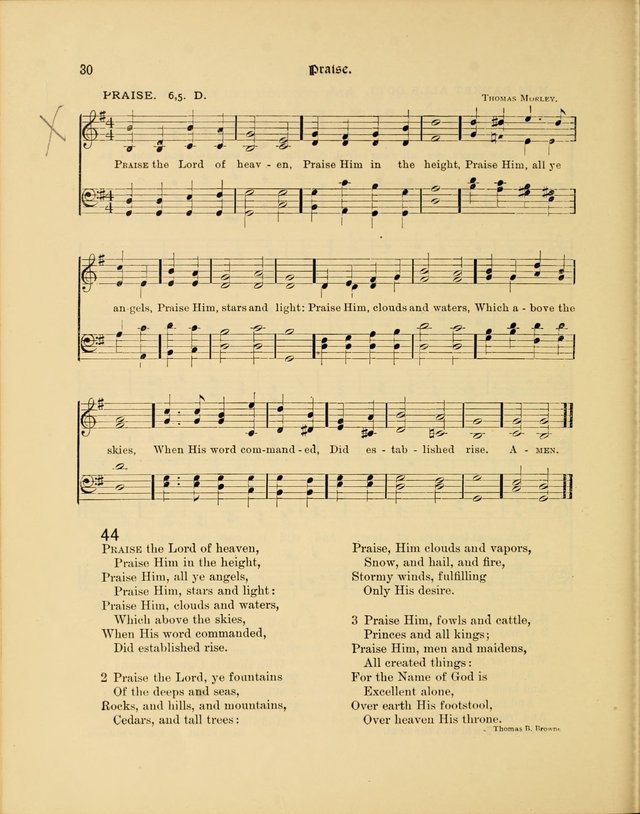 Luther League Hymnal page 45