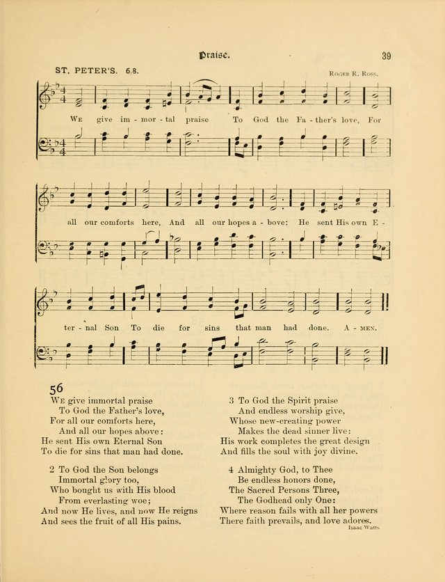 Luther League Hymnal page 54