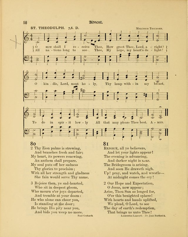 Luther League Hymnal page 73