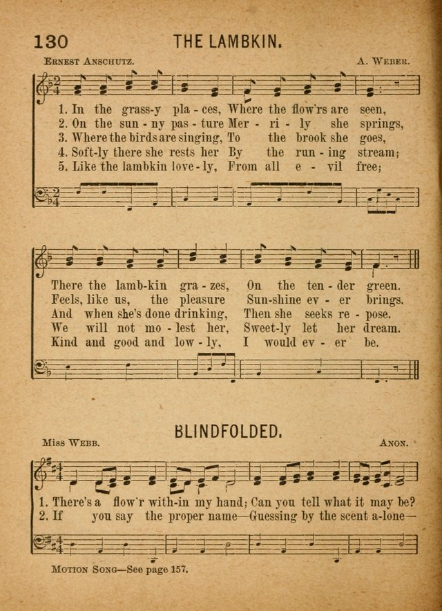 Little Pilgrim Songs: for primary classes and singing in the home: a new collection of sacred and secular songs, (including motion songs) together with a number of services for anniversary occasions page 125
