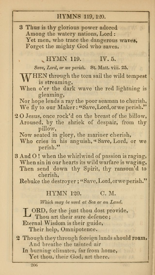 The Lecture-Room Hymn-Book: containing the psalms and hymns of the book of common prayer, together with a choice selection of additional hymns, and an appendix of chants and tunes... page 217