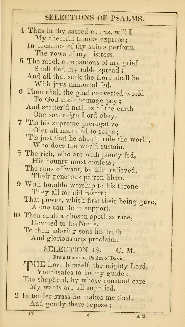 The Lecture-Room Hymn-Book: containing the psalms and hymns of the book of common prayer, together with a choice selection of additional hymns, and an appendix of chants and tunes... page 28