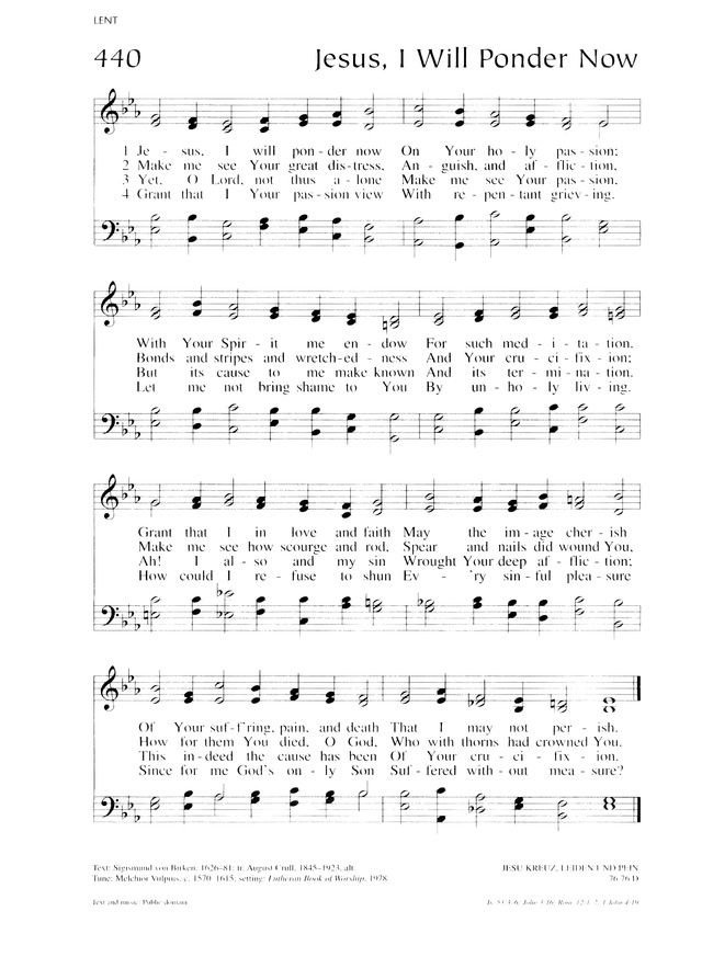 Lutheran Service Book 442. You are the King of Israel | Hymnary.org