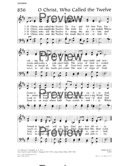 Lutheran Service Book 858  O Father, all creating | Hymnary org