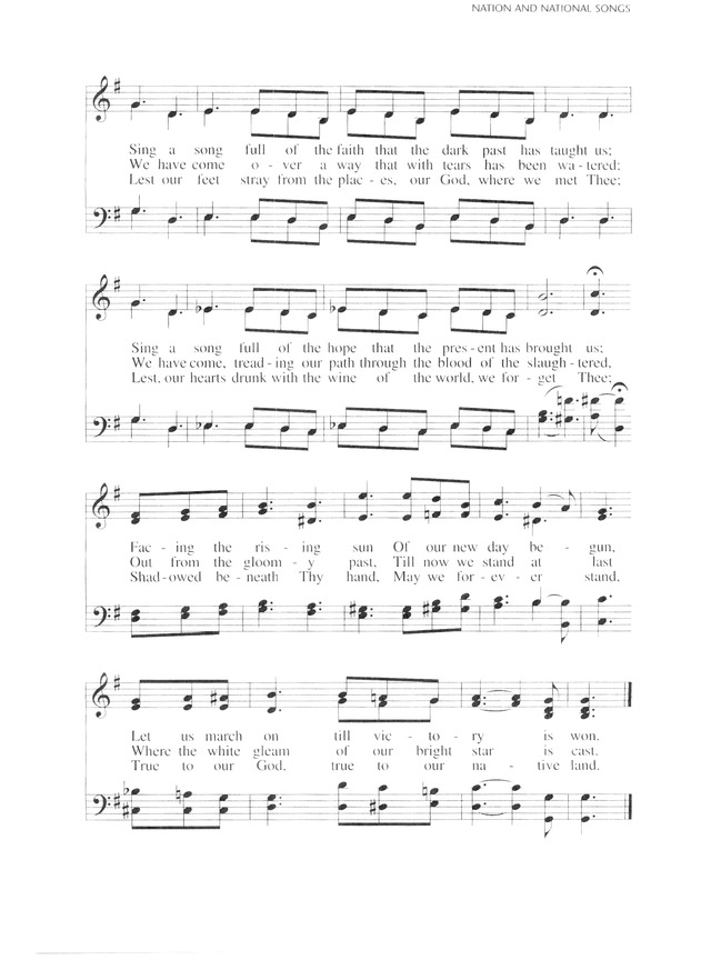 Lutheran Service Book 964. Lift ev'ry voice and sing - Hymnary.org