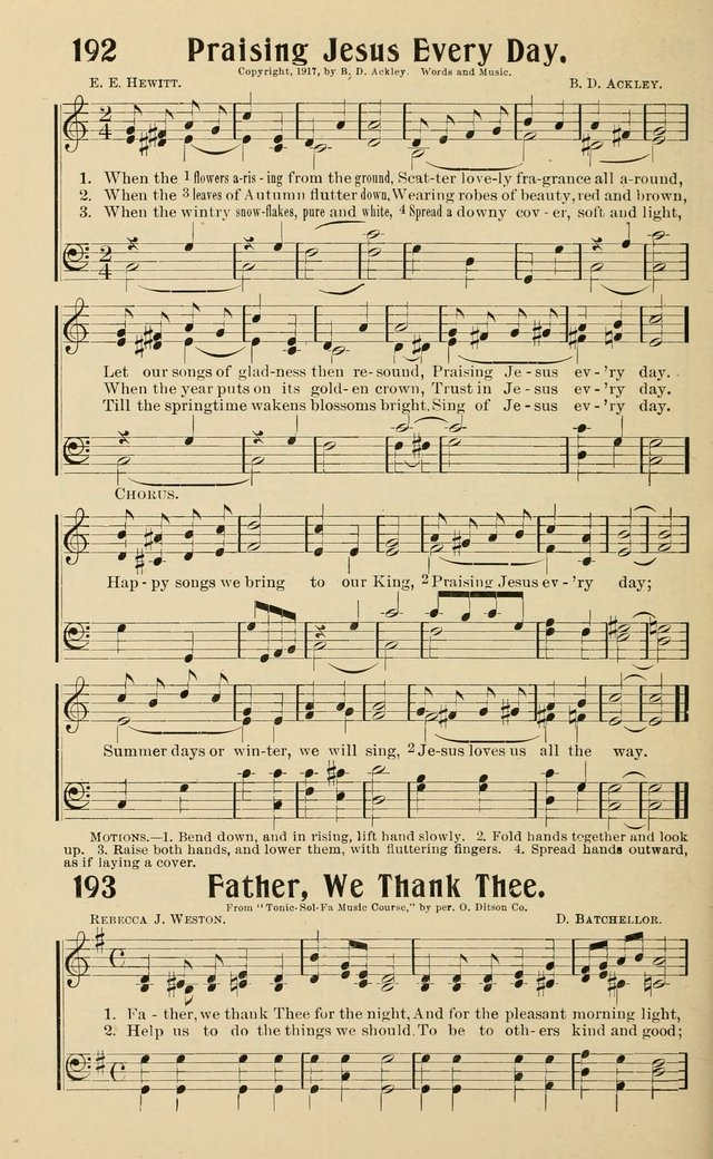 Life and Service Hymns page 189