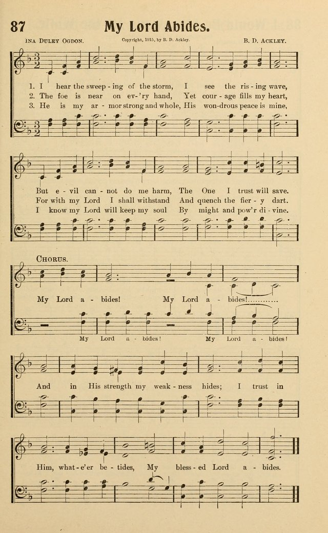 Life and Service Hymns page 88
