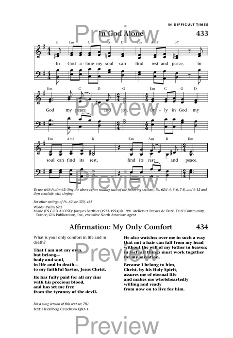 In God Alone | Hymnary.org