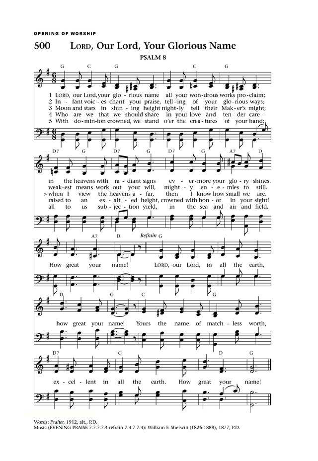 Lift Up Your Hearts: psalms, hymns, and spiritual songs page 546