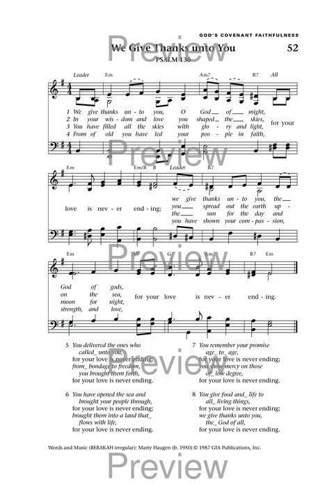 Lift Up Your Hearts: psalms, hymns, and spiritual songs page 59