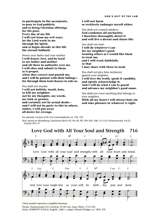 Lift Up Your Hearts Psalms Hymns And Spiritual Songs Page 789