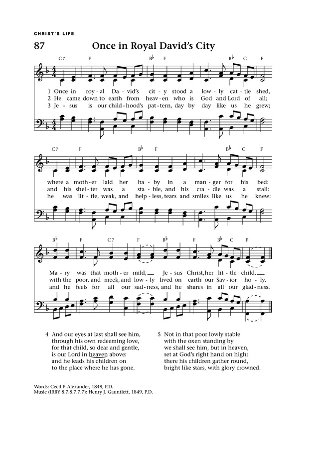 Lift Up Your Hearts: psalms, hymns, and spiritual songs page 98