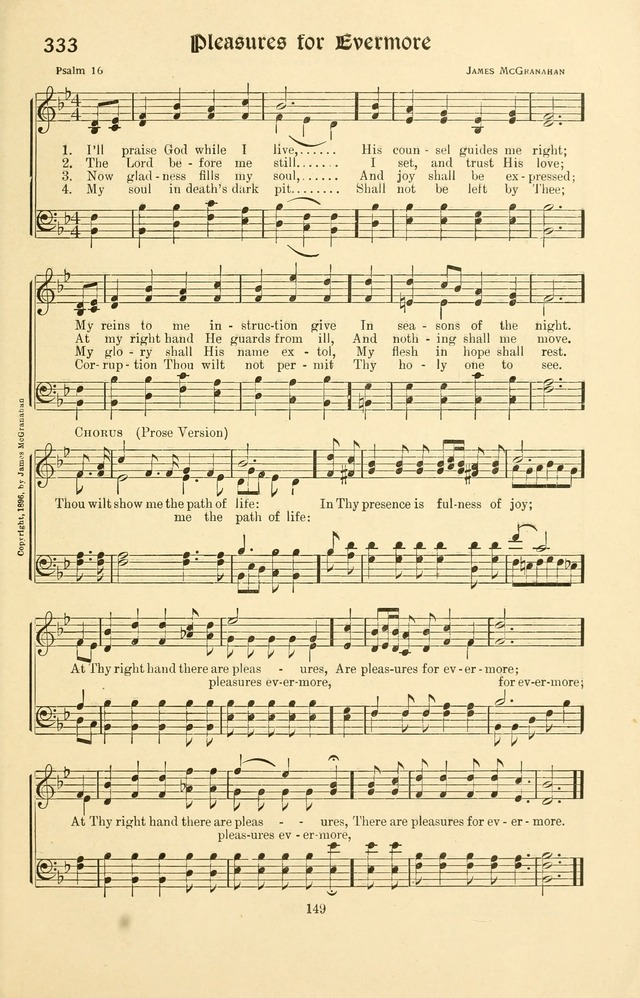 Montreat Hymns: psalms and gospel songs with responsive scripture readings page 149