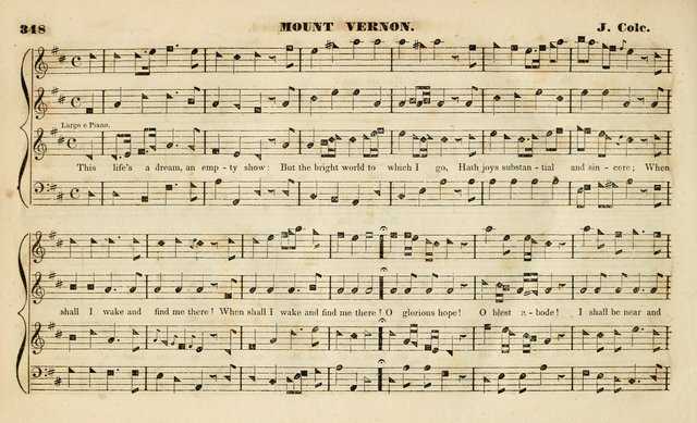The Methodist Harmonist, containing a collection of tunes from the best authors, embracing every variety of metre, and adapted to the worship of the Methodist Episcopal Church. New ed. page 367