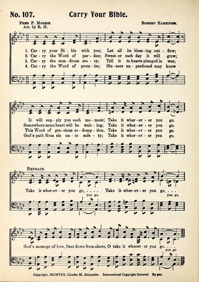 Magnificat: a Hymnal for Sunday Schools page 104