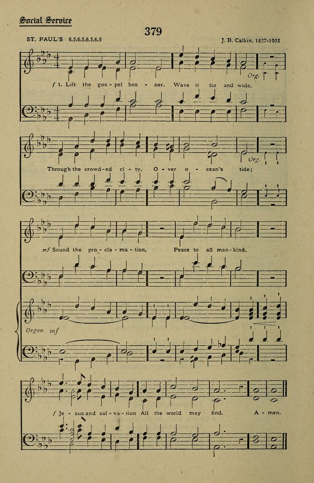 Methodist Hymn and Tune Book: official hymn book of the Methodist Church page 420