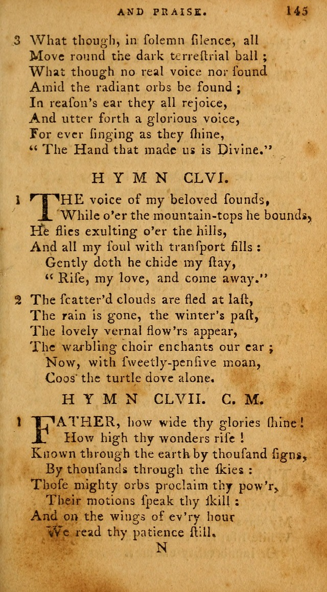 The Methodist Pocket Hymn-book, revised and improved: designed as a constant companion for the pious, of all denominations (30th ed.) page 145
