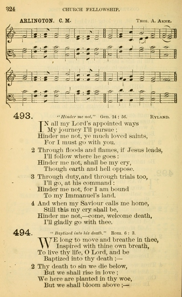 The Manual of Praise for Sabbath and Social Worship page 324