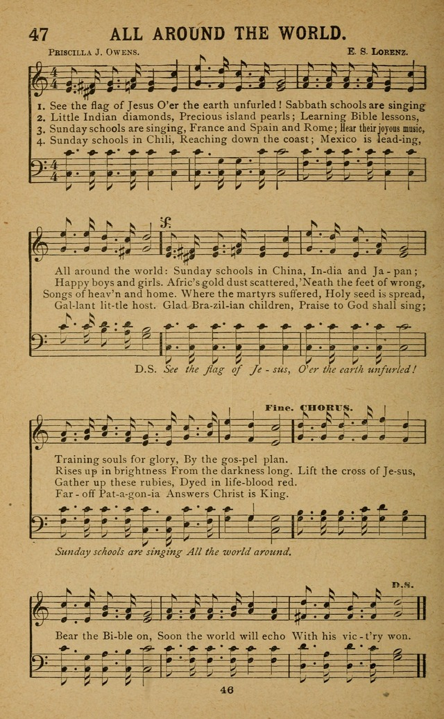 Missionary Songs: for the use of missionary societies, missionary and gleaners