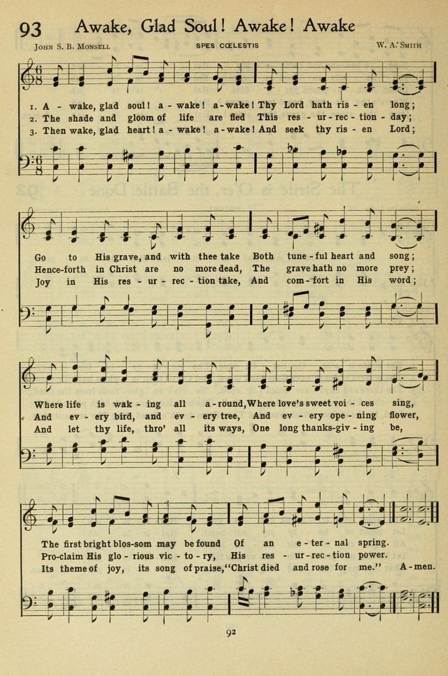 The Methodist Sunday School Hymnal page 105