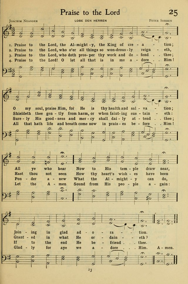 The Methodist Sunday School Hymnal page 36