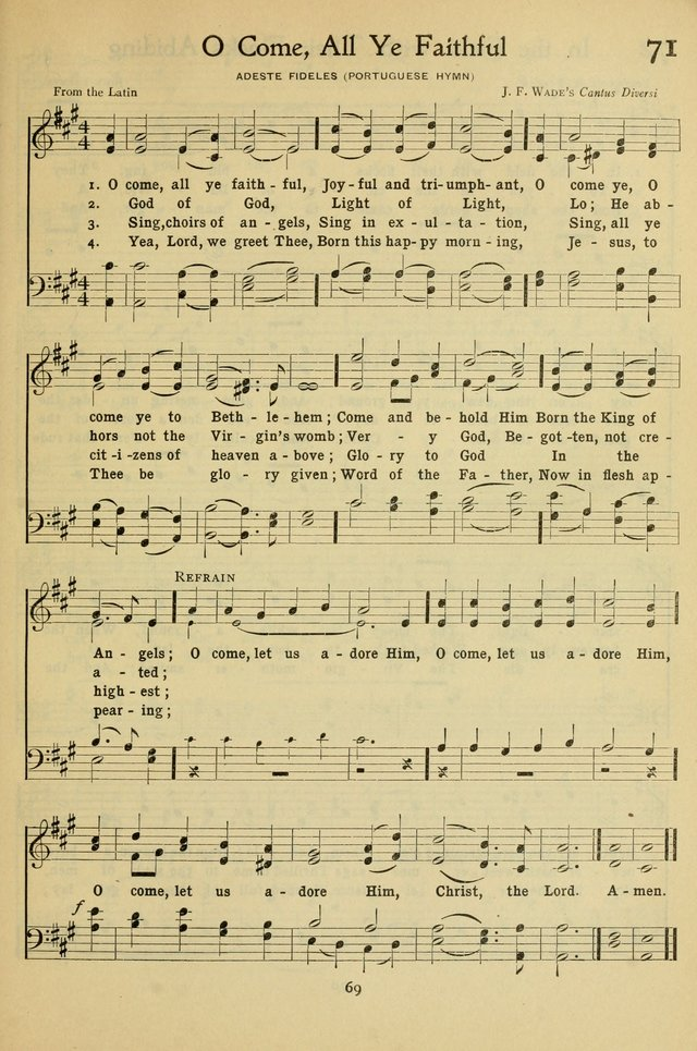The Methodist Sunday School Hymnal page 82